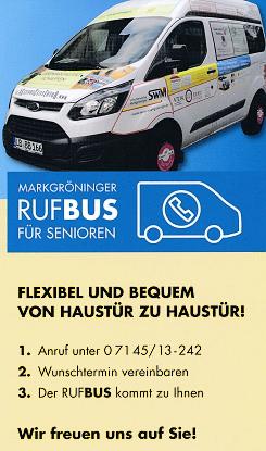 Senioren RufBus